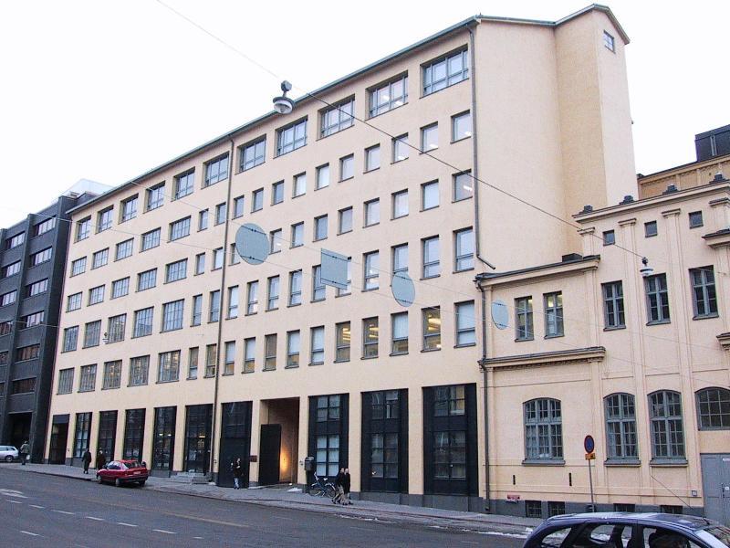Taideyliopiston Teatterikorkeakoulun päärakennus Kookos