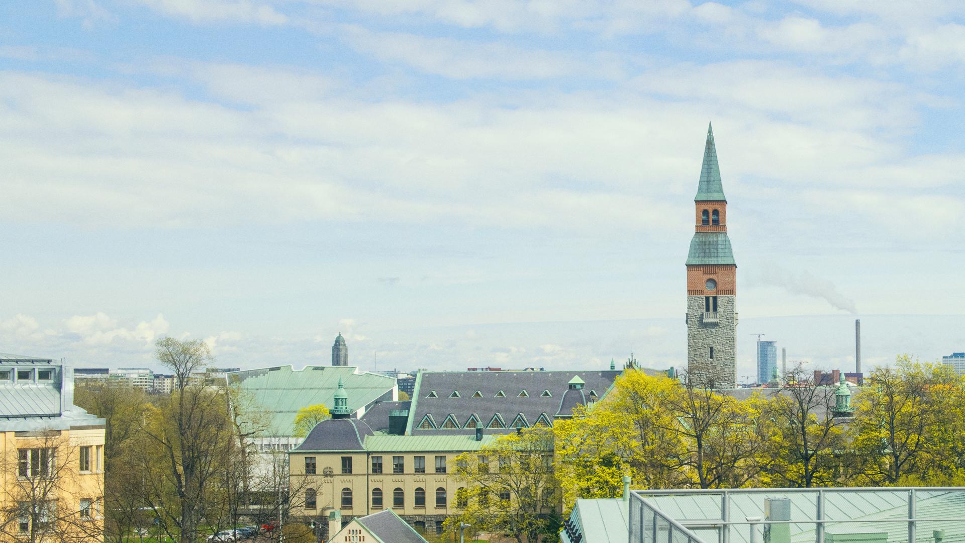 Helsingin kaupunkikuvaa