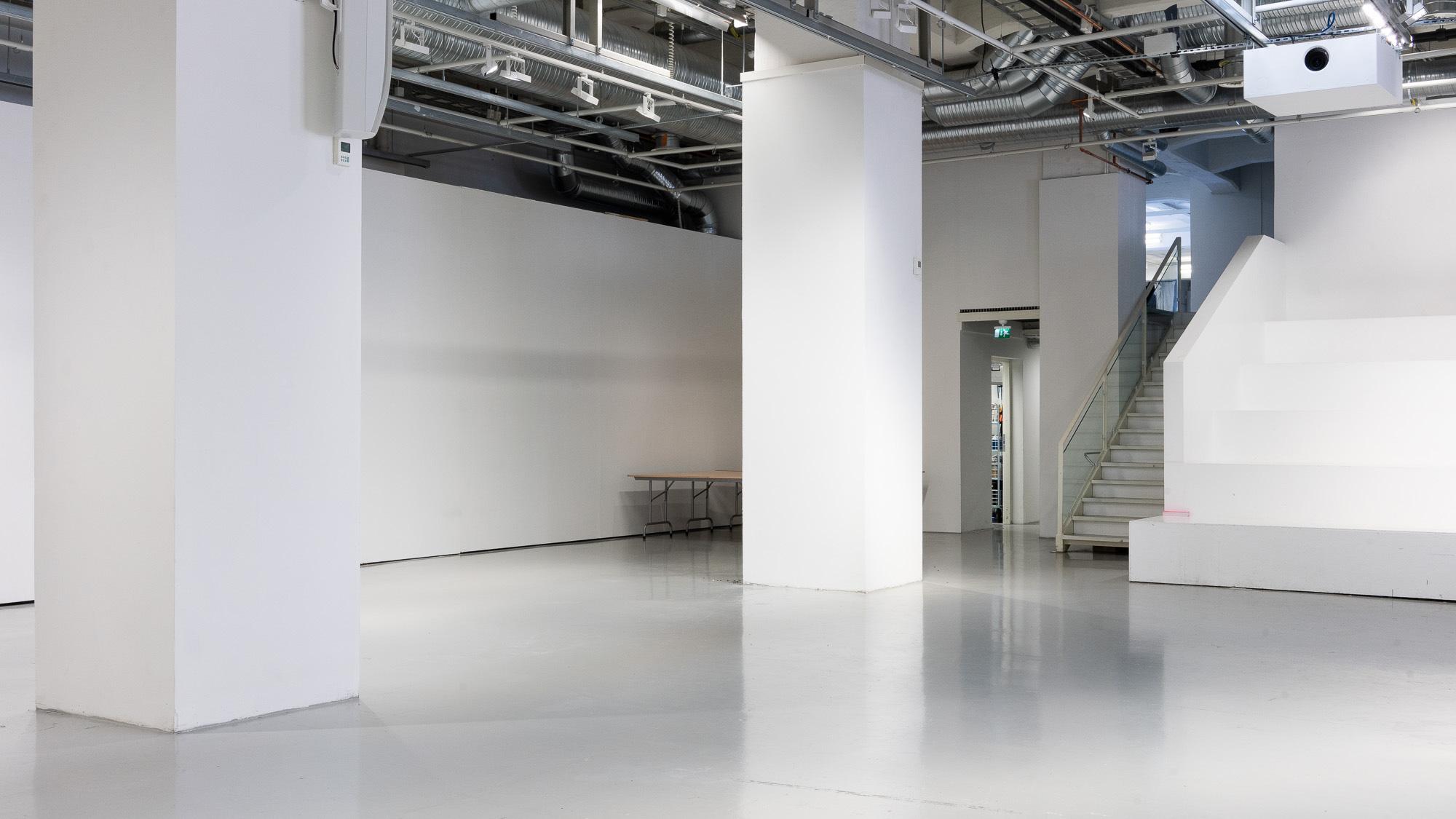 Tyhjä galleriatila
