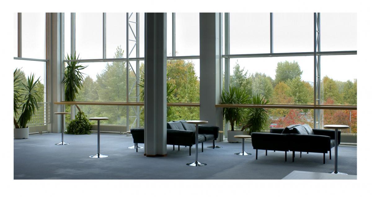 Kuopion musiikkikeskuksen konserttilämpiö