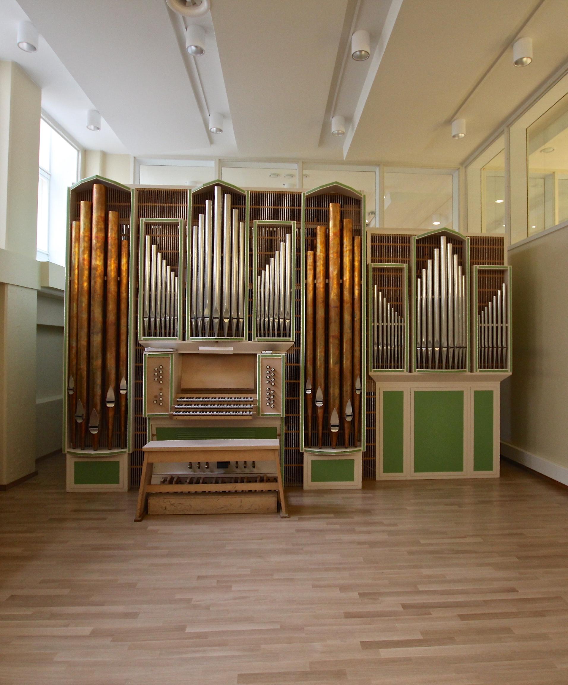 Kuva Sibelius-Akatemian Veikko VIrtanen -uruista