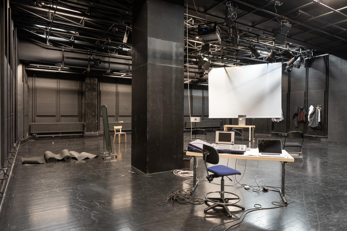 Teatterikorkeakoulun Studio 4- sali