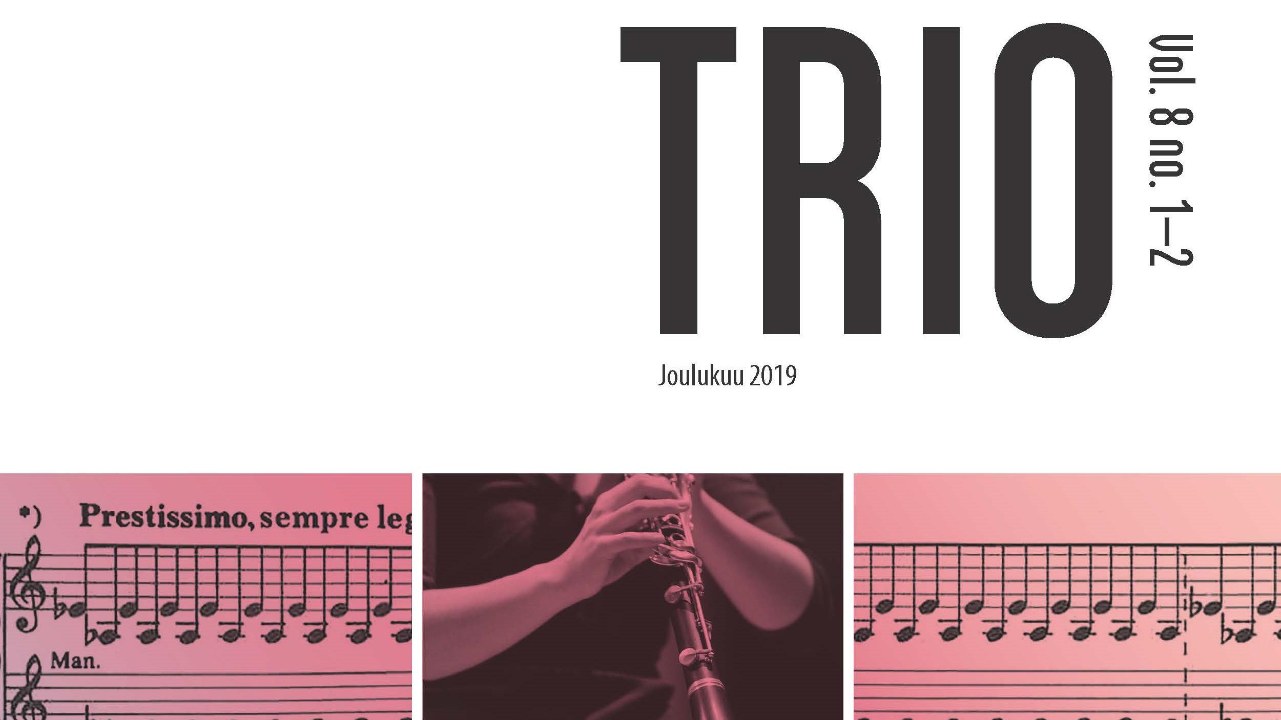 Trio-lehden joulukuun 2019 numeron kansi