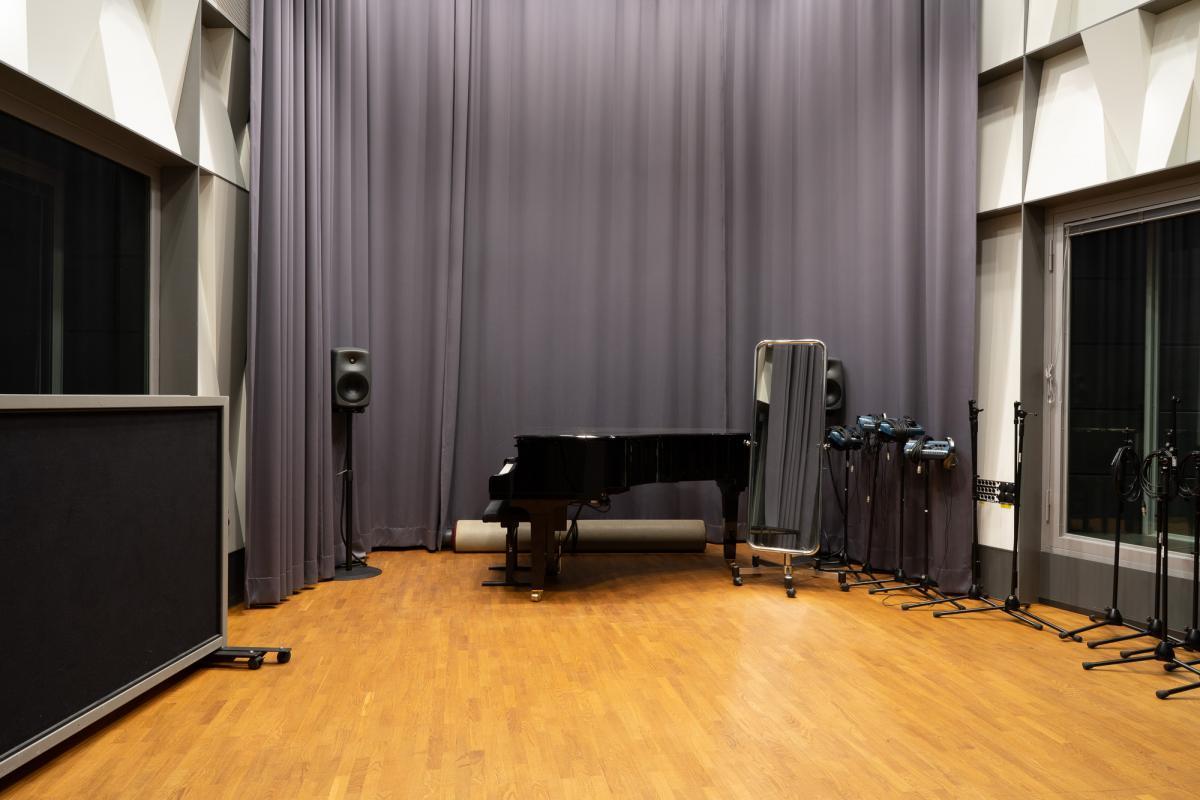 Musiikkitalon pieni äänityshuone