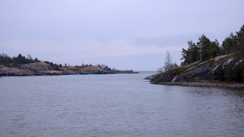 Scenic view of Kuninkaansaari island and surrounding waters.