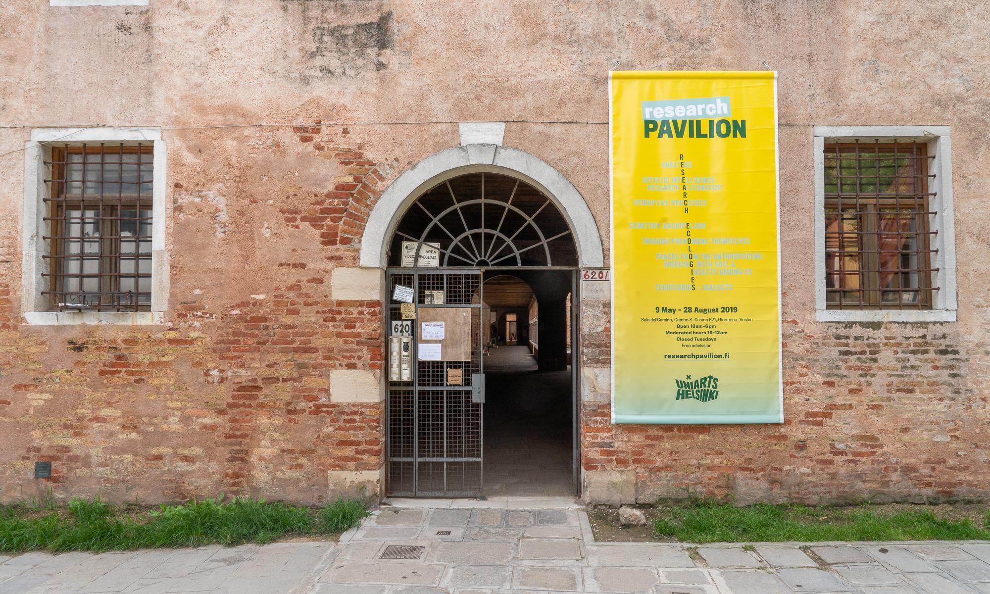 Research Pavilion #3 in Venice