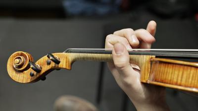 yksityiskohta viulusta
