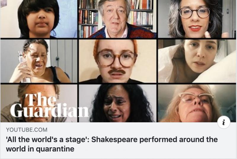 Shakespeare solos, kuvituskuva