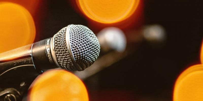 Microphone photo by Andrew Medhat from Unsplash.com