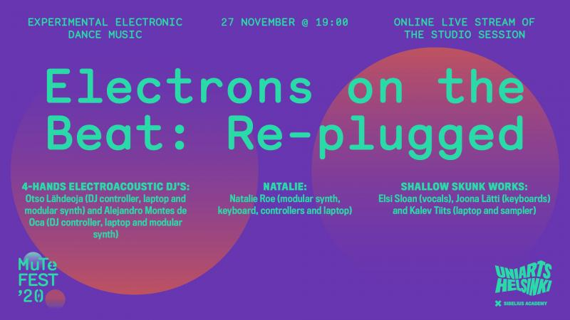 Electrons on the beat