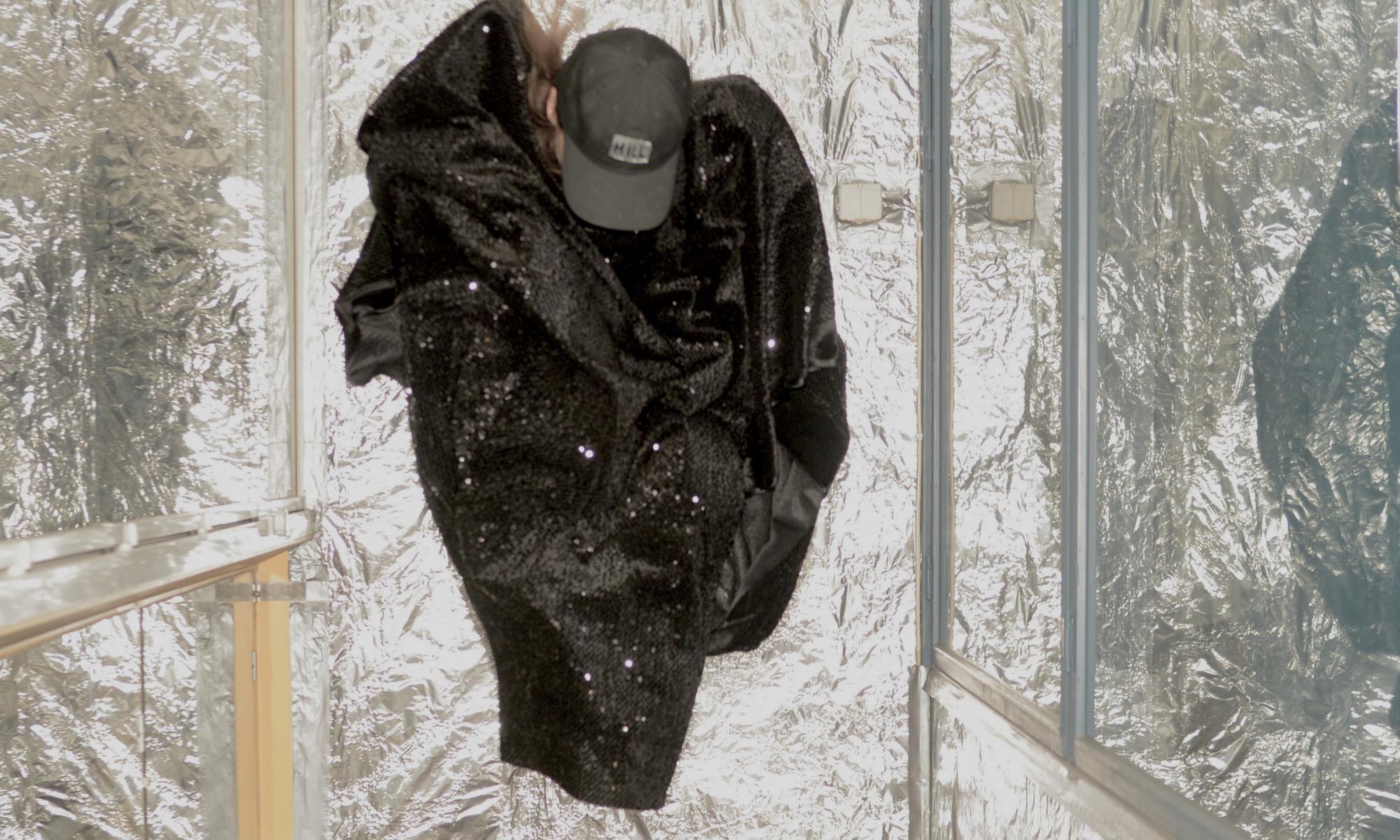 Kuva Simo Kellokummun teoksesta Spaceball.