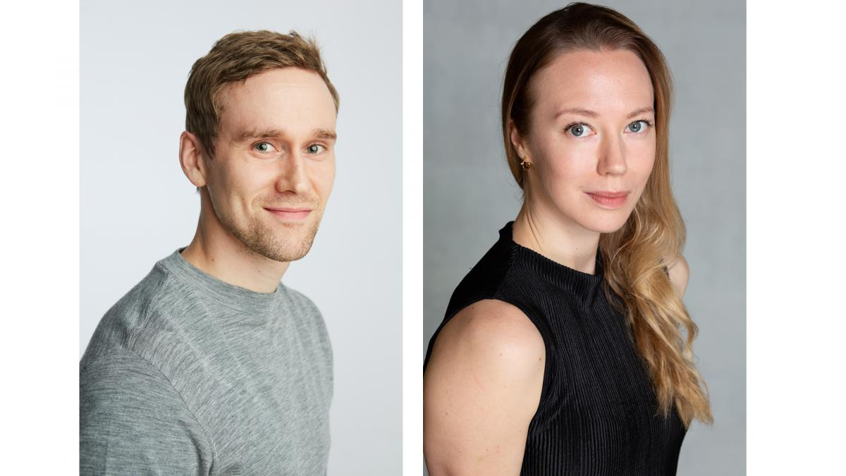 Potretit Miikka Wallin ja Heidi Ajanto.