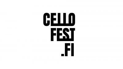 Cellofestin logo valkoisella pohjalla.