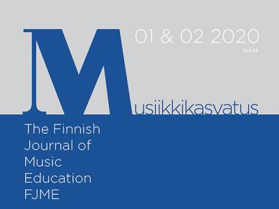 Finnish Journal of Music Education kansi