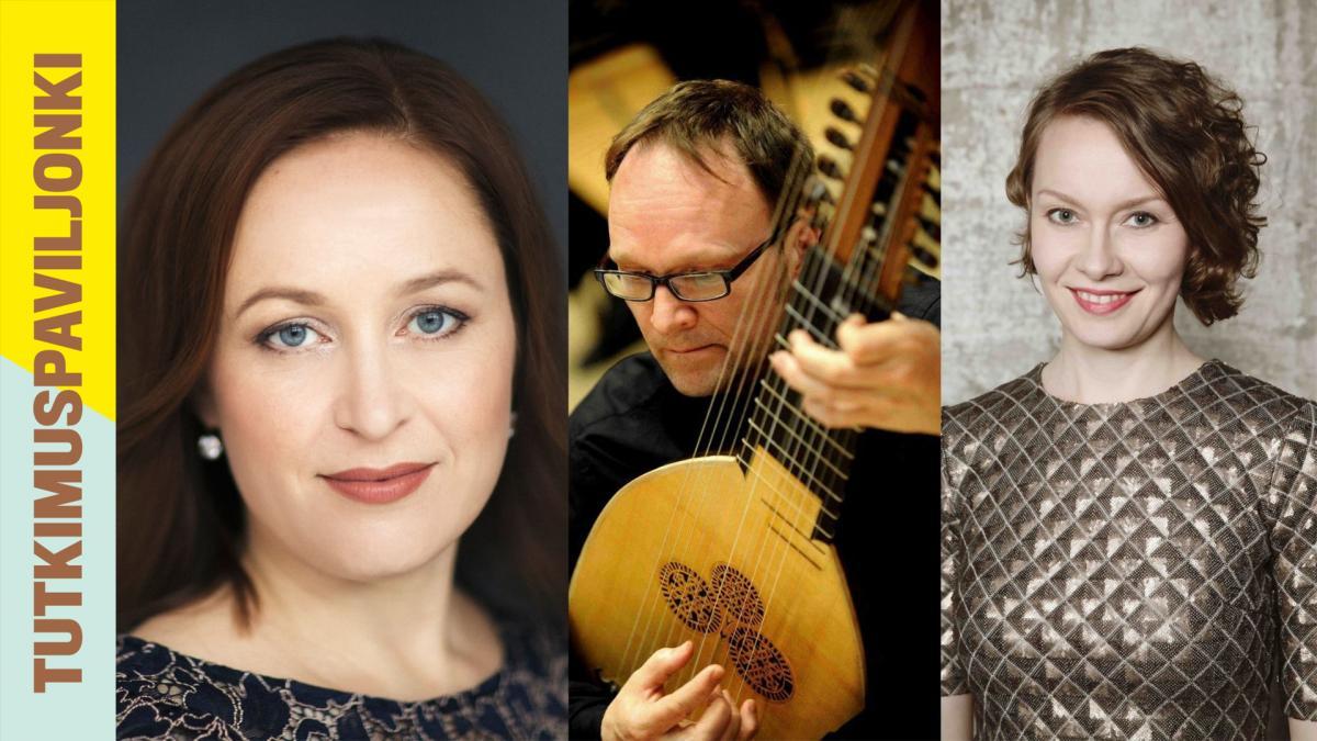 Kaisa Dahlbäck, Eero Palvilainen and Marianna Henriksson