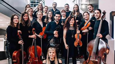 Middle eastern orchestra