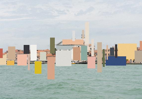 Sea landscape and graphics.