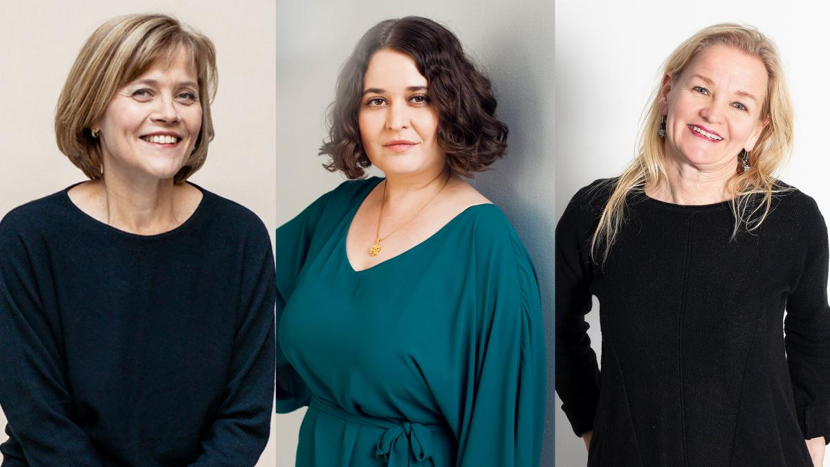 Eeva Anttila, Silvia Hosseini ja Anita Seppä