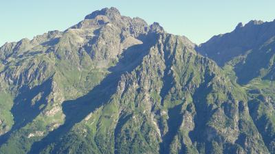 Kuvassa vuoristoa