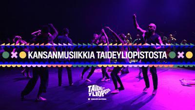 Kansanmusiikkia Taideyliopistosta -konserttisarjan kuvituskuva