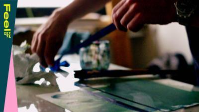 kädet tekevät taidetta