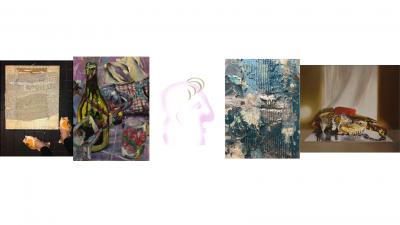 Kuvataideakatemian opiskelijoiden viisi taideteosta.