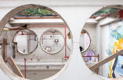 Taideyliopiston Mylly-rakennuksen sisätila